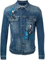 Dolce & Gabbana embroidered denim jacket - men - Cotton/Spandex/Elastane/Polyester - 46