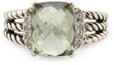 Thumbnail for your product : David Yurman Wheaton Ring (Prasiolite and Diamonds) - Size 5