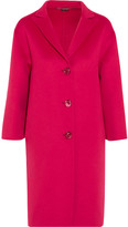 Gucci Oversized Wool And Angora-blend Coat - Pink