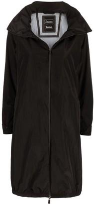 Herno Mid-Length Zip-Up Coat