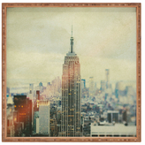 DENY Designs Old New York Large Square Tray
