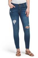 Skinny Jeans With Knee Destruction