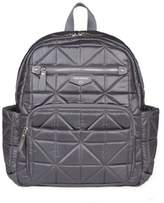 TWELVElittle Companion Backpack Diaper Bag in Platinum