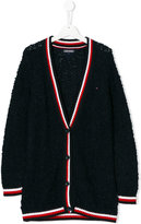 Tommy Hilfiger Junior teen knitted v-neck cardigan