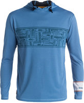 Quiksilver Waterman Men's Hooked Graphic-Print Hooded Rash Guard