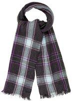 Etro Plaid Wool-Blend Scarf