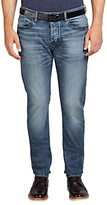 Hugo Boss Boss Orange Orange90 Tapered Jeans, Bright Blue