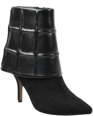 J. Renee Gaelen Faux Leather Fold Over Bootie