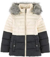 Karl Lagerfeld Bi-colored padded coat
