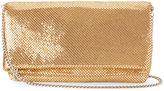 La Regale Gold-Tone Flap Clutch