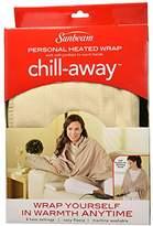 "Sunbeam Chill Away Heated Fleece Wrap, 27"" x 57"", Sand"