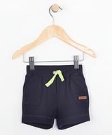 Robeez Navy & Lime Shorts - Infant