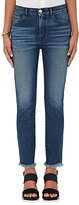 3x1 Women's W3 Straight Authentic Crop Jeans-NAVY