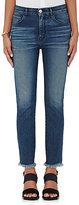 3x1 Women's W3 Straight Authentic Crop Jeans-NAVY