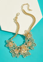 ModCloth Botanical Bling Statement Necklace