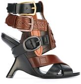 Tom Ford buckled straps sandals - women - Calf Leather/Leather - 38