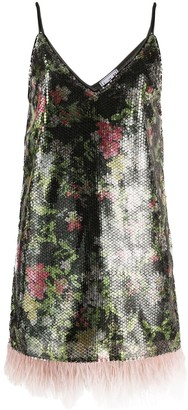 In The Mood For Love Mello graphic floral print dress