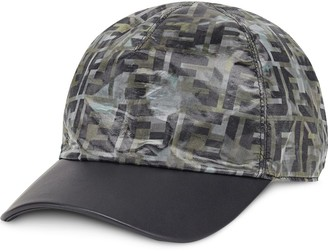 Fendi camouflage FF print cap