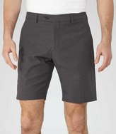 Reiss Reiss State - Jacquard Weave Shorts In Blue