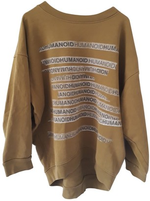 Humanoid Khaki Cotton Top for Women