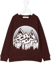 Stella McCartney climb a mountain sweater - kids - Cotton - 2 yrs