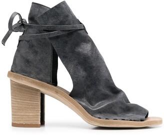 Officine Creative Sidoine 80mm leather sandals