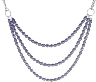 Steel by Design Triple Layered Cultured Pearl Necklace