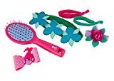 Goody Trolls Hair Accessory Gift Pack with Poppy Pink Hair Brush, 6 Count