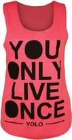 VIP Womens Sleeveless Yolo Vest Top (M8) (8/10 (uk 12/14), )