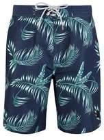 Burton Mens Leaf Print Board Style Swim Shorts