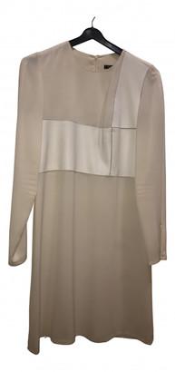 Tara Jarmon White Leather Dresses