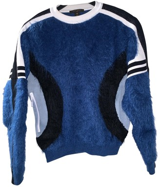 Louis Vuitton Blue Wool Knitwear