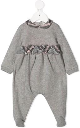 Il Gufo Plaid-Trimmed Pyjamas