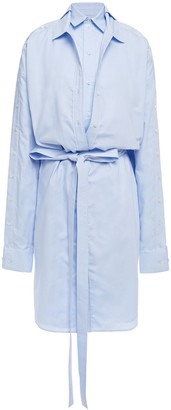Y/Project Oversized Layered Cotton-oxford Shirt Dress