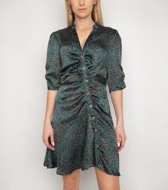 New Look Gini London Animal Print Button Dress