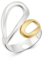 Ippolita 18K Yellow Gold & Sterling Silver Chimera Small Bypass Ring