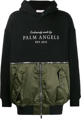 Palm Angels Hybrid Hoodie