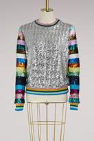 Mary Katrantzou Magpie sequins sweatshirt