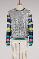 Mary Katrantzou Magpie sequins sweatshirt