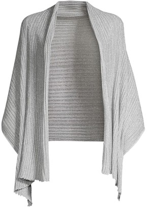 Missoni Operato Lame Wrap