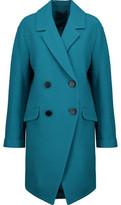 Diane von Furstenberg Finola Bouclé Wool Coat