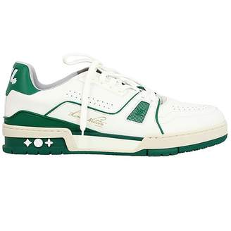 Louis Vuitton Trainer White Leather Trainers