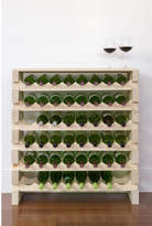 6 Layers of 8 Bottles Wine Rack Finish: Top Shelf Natural