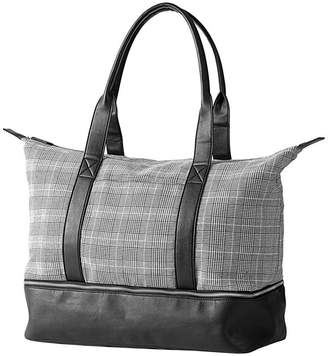 Cathy's Concepts Cathy Concepts Personalized Glen Plaid Luggage Tote