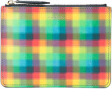 Paul Smith pixel effect zip pouch - unisex - Calf Leather - One Size