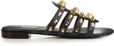 Balenciaga Giant studded leather slides