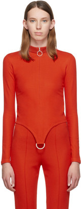 Rudi Gernreich Red D-Ring Sweater