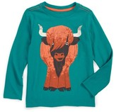 Tea Collection Toddler Boy's Heeland Coo Graphic T-Shirt