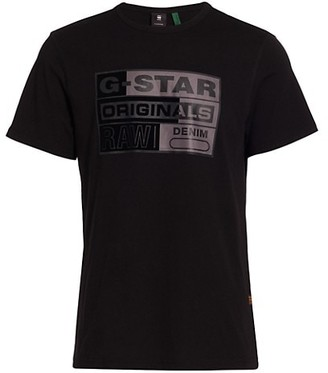 G Star Logo Graphic T-Shirt