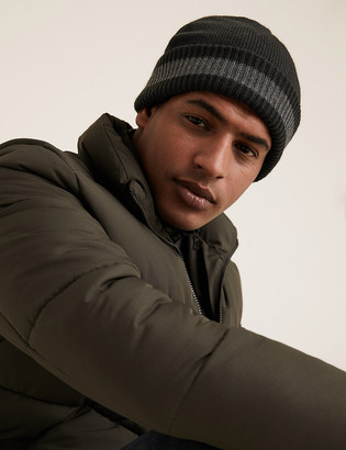 Marks and Spencer Knitted Beanie Hat with Thermowarmth